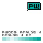 ANALOG K - Analok K EP (Front Cover)