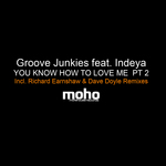 GROOVE JUNKIES feat INDEYA - You Know How To Love Me (Part 2) (Front Cover)
