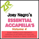 VARIOUS - Joey Negro's Essential Accappella's Volume 4 (Front Cover)