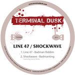 LINE 47/SHOCKWAVE - Badman (Front Cover)