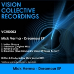 VERMA, Mick - Dreamour EP (Front Cover)