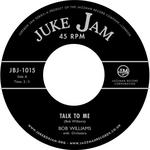 WILLIAMS, Bob - Talk to Me (Front Cover)