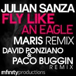 SANZA, Julian - Fly Like An Eagle (Front Cover)