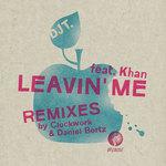 DJ T  feat KHAN - Leavin' Me (Front Cover)