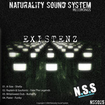 A-SIZE/RAYTEM/SOULTRONIC/BITTERWEET DUB/PLATER - Existenz (Front Cover)