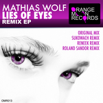 MATHIAS WOLF - Lies Of Eyes Remixes (Front Cover)