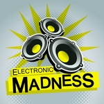 VARIOUS - Electronic Madness (Front Cover)