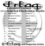 VARIOUS - Selected Electronica Works (Back Cover)
