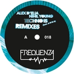 D'ELIA, Alex/NIHIL YOUNG - Techno Is Part 1 (Front Cover)