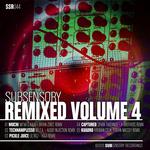 MI'KA & KALA/MITA/LILROJ/SPARK TABERNER/KROMAN CELIK - SubSensory Remixed Volume 4 (Front Cover)