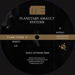PLANETARY ASSAULT SYSTEMS - Function 4 Remixes Episode 1 (Front Cover)