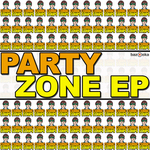COMIC STRIPS - Party Zone EP (Front Cover)