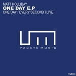 HOLLIDAY, Matt - One Day EP (Front Cover)