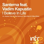 SANTERNA feat VADIM KAPUSTIN - I Believe In Life (Part One) (Front Cover)