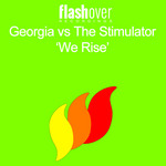 GEORGE/THE STIMULATOR - We Rise (Front Cover)