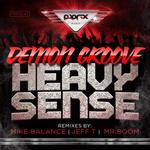 DEMON GROOVE - Heavy Sense EP (Front Cover)