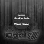 KLONEZ vs BUSHO - Wreak Havoc (Front Cover)