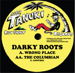 DARKY ROOTS - Wrong Place (Front Cover)