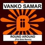 SAMAR, Vanko - Round Around (remix) (Front Cover)