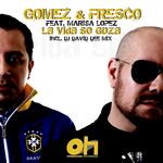 GOMEZ & FRESCO feat MARISA LOPEZ - La Vida Se Goza (Back Cover)