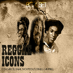 VARIOUS - Reggae Icons Box  Set (Front Cover)