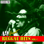 VARIOUS - 49 Great Reggae Hits Vol 1 (Front Cover)