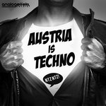SUTTER CANE/THE TECHNOTWINS/NIEREICH/MIKE BAN/DIETMAR WOHL/DAVIDCHRISTOPH/ROBERT STAHL - Austria Is Techno (Front Cover)