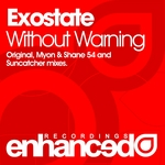 EXOSTATE - Without Warning (Front Cover)