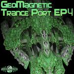 MAN MACHINE/OVNIMOON/NEON NOODLE/LEENUZ - Geomagnetic Trance Port EP 4 (Front Cover)