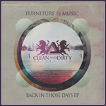 FURNITURE IS MUSIC - Back In Those Days EP (Front Cover)