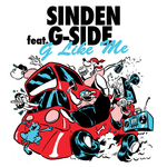 SINDEN feat G SIDE - G Like Me (Front Cover)