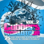 VARIOUS - Clubbers Worldtour Vol 2 (25 Hot Rolling Pounding House & Trance Pearls) (Front Cover)