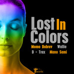 D-TRAX/WALLIE/MOMO DOBREV/MANU SAMI - Lost In Colors (Front Cover)
