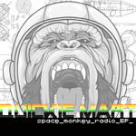 QUICKIE MART - Space Monkey Radio EP (Front Cover)