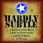 HARDLY SUBTLE - EP 2 (Back Cover)