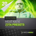 Patchworx 20: Tech Funk Synths (Sample Pack Z3TA+ Presets/MIDI)