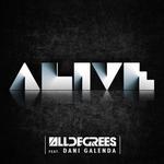 ALLDEGREES feat DANI GALENDA - Alive (Front Cover)