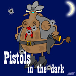 VARIOUS - Pistols In The Dark (extended) (Front Cover)
