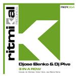 ELENKO, Djose/DJ PIVE - 3 In A Row (Front Cover)