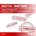SONIC SENSE - Sonic Sense - Case Closed EP (Front Cover)