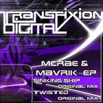 McRAE & MAVRIK - McRae & Mavrik EP (Front Cover)
