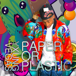 YXUNG VEGAS - Paper Or Plastic (Front Cover)