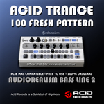 Acid Trance 100 Fresh Pattern (Sample Pack AUDIOREALISM BASS LINE 2)