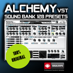 GIGALOOPS - Alchemy - Sound Bank (Sample Pack) (Front Cover)