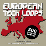 GIGALOOPS - 500 European Tech Loops (Sample Pack WAV/REX) (Front Cover)