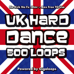500 UK Hard Dance Loops (Sample Pack WAV/REX)