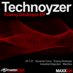 TECHNOYZER - Enemy Destroyer EP (Front Cover)