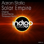 AARON STATIC - Solar Empire (Front Cover)