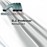 DJ PROFESSOR - Remixes Vol 2 (Front Cover)