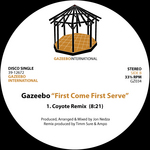 GAZEEBO - First Come First Serve (Front Cover)
